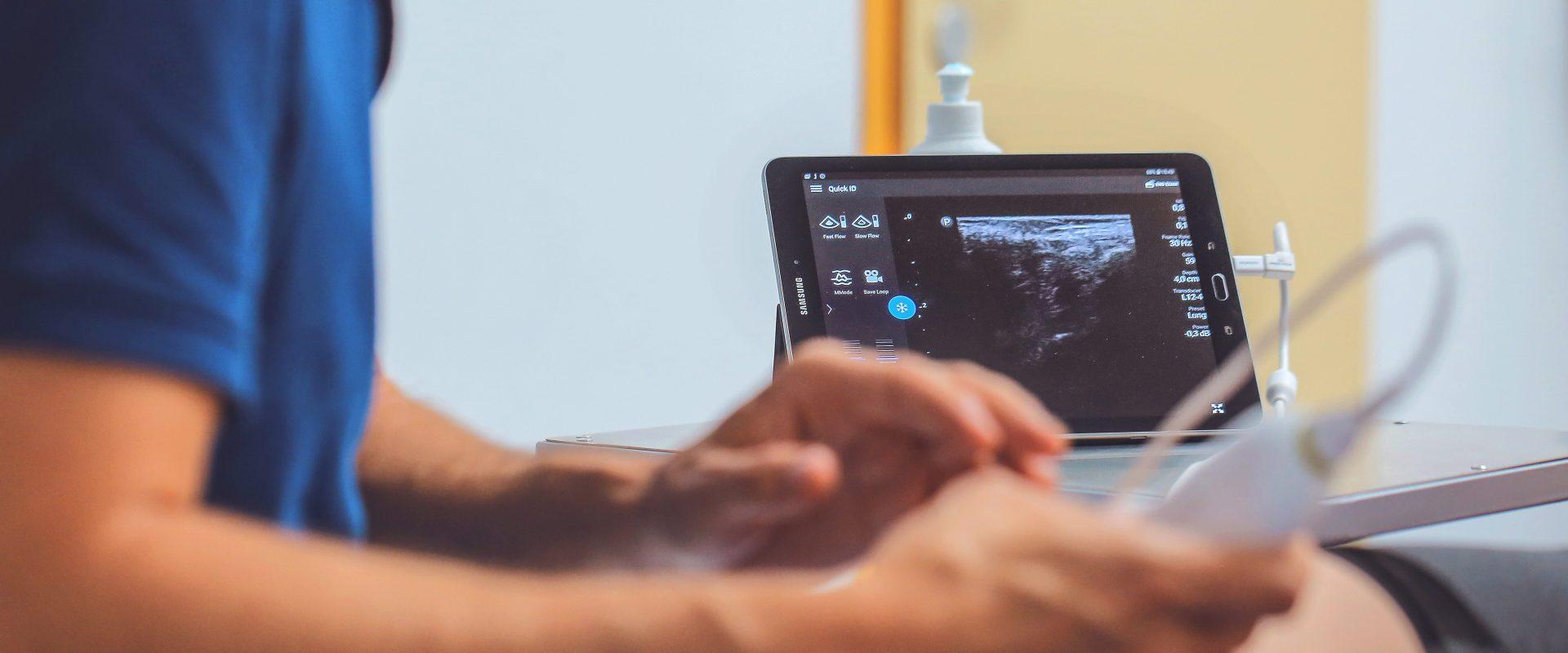 Einsicht in den Körper mittels Ultraschall